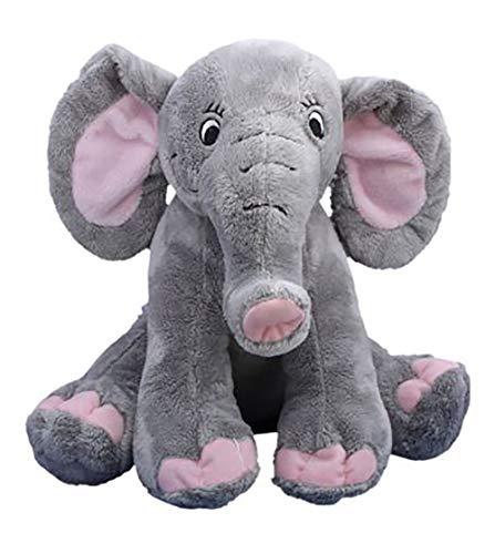 Cuddly Soft 16 inch Stuffed Elephant...We Stuff 'em...You Love 'em!