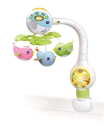 VTECH- Mobile TOURNI CUI Baby, 80-513105, Multicolore - Version FR