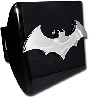 Elektroplate Batman Bat Black All Metal Hitch Cover