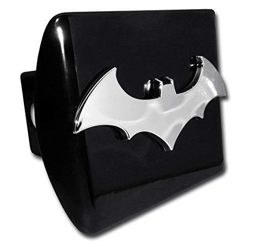 Batman Bat Black All Metal Hitch Cover