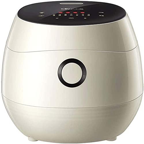 FGDFGDG Mini Multifunktionale Multifunktionsreiskocher Home Smart 3 l Mit Dampfbetrieb Touchtemperatur Temperaturerkennung Anti-Overlow-Topf 24-Stunden-Buchung