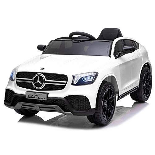 ATAA Mercedes GLC Coupe Edition - Blanco - Coche eléctrico para niños...