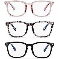 3-Pack Musboy Blue Light Glasses
