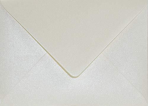 Netuno 100 buste da lettera crema perlato formato B6 125x175 mm Aster Metallic Cream buste con...
