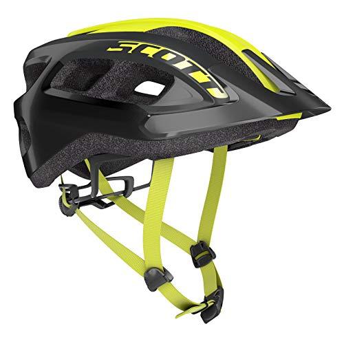 Scott 275211 - Casco de Bicicleta Unisex para Adulto, Color Negro, Talla 1