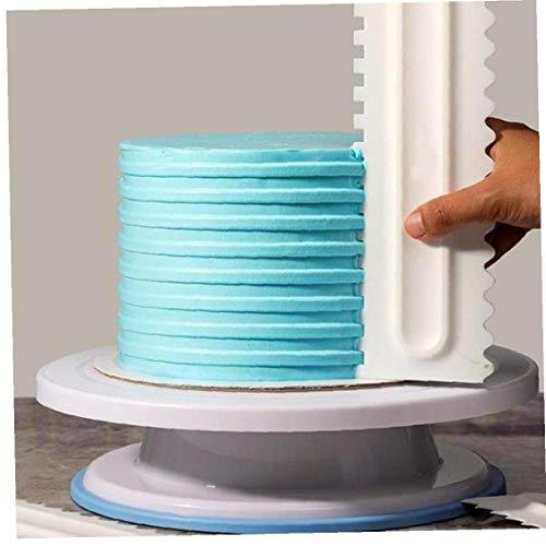 Kuchen Creme Schaber Unregelmäßige Zähne Icing Comb Fondant Spachteln DIY Kuchen Slicer Cutter Backen Gebäck Werkzeuge Küche Zubehör 3pcs