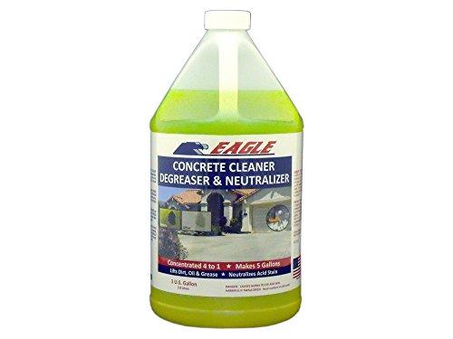 Eagle Sealer EOS1 Greenish Yellow Cleaner, Degreaser, Neutralizer Concentrate, 1 gal Jug,(Not Sold in HI, PR, AK, GU, VI)