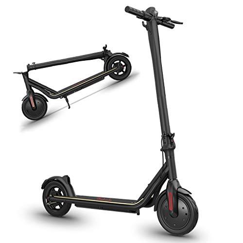 Patinete Eléctrico Plegable E Scooter, hasta 20 km/h, Neumático de 8.5 Pulgadas,...