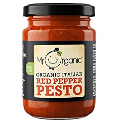 Delicious red pesto is a variation of the original green pesto It is ideal for pasta and bruschetta It is beautifully packed nutrient filled sauce with quality ingredients 100 percent full flavoured rich texture and taste