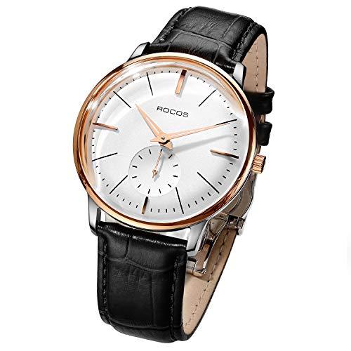 ROCOS Reloje Mecánico Reloj Automático para Hombre R0140