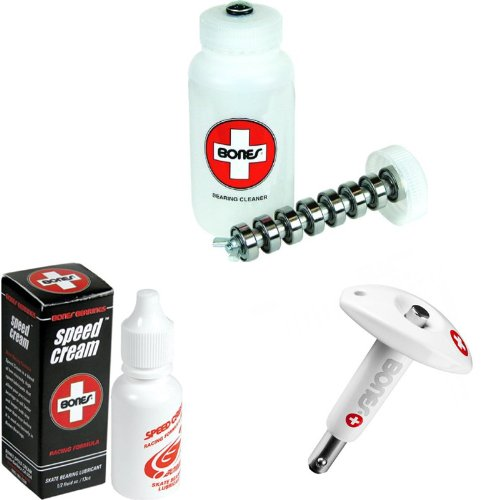 Bones Skate Clean and Lube Maintance Package (Without Skateboard Tool)