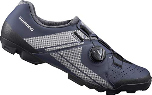 SHIMANO SH-XC3 Fahrradschuhe Navy Schuhgröße EU 38 2021 Rad-Schuhe Radsport-Schuhe