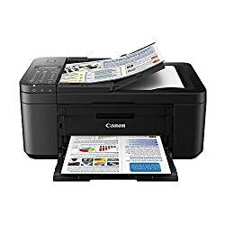 Image of Canon PIXMA TR4520 Wireless All in One Photo Printer with Mobile Printing, Black, Works with Alexa: Bestviewsreviews