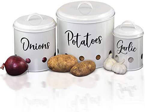 Home Acre Designs Collection Onion Storage Potato Storage Garlic Keeper Farmhouse Kitchen Decor product image