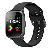 Smart Watch Fitness Tracker Blood Oxygen Detection SpO2 5ATM Waterproof Health Sleep&Swim Tracking