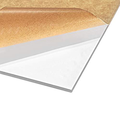 sourcing map Acrylglasscheibe für Bilderrahmen Schildhalter DIY Display Projekt 30cm * 40cm * 3mm, 2 Stück