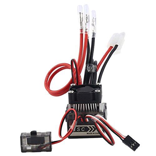 lahomia Controlador Electrónico 320A Accesorios ESC Cepillado para RC con