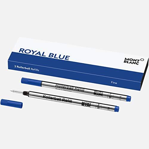 Refill BP F 2 x 1 Royal Blue PF marca Montblanc