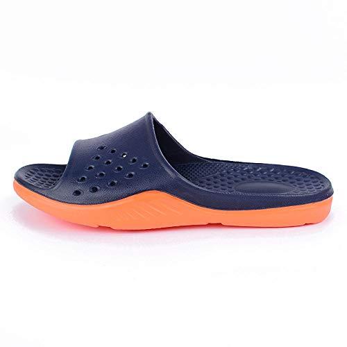 YYFF Zapatos de Playa y Piscina,Hogares, Encendedor, baño-Deranger_43,Sandalias de Punta Descubierta