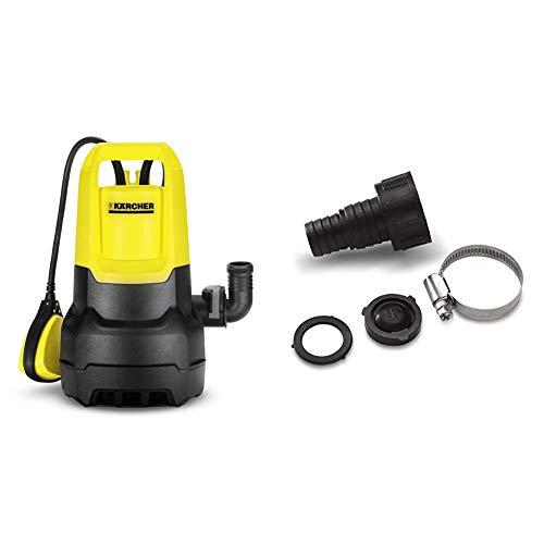 Kärcher SP1 Dirt pompe d'évacuation eau chargée & 6.997-359.0 Karcher Adaptateur