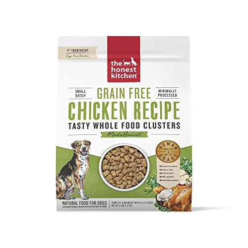 The Honest Kitchen Grain Free Whole Food Clusters Dog Food – Cage Free Chicken 5 lb