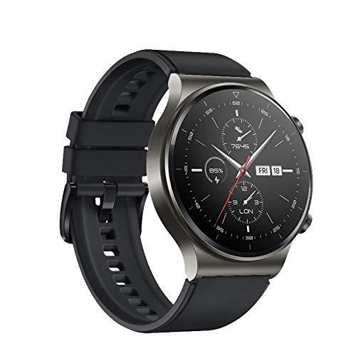 TurnTurn Pulsera compatible con Huawei Watch GT2 Pro/Huawei Watch GT/GT2 46 mm/Watch GT 2e pulseras de silicona deportiva resistente al agua de repuesto para hombre