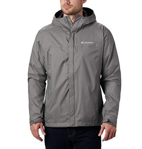 Columbia Men's Big & Tall Watertight II Jacket, City Grey, Large Tall
