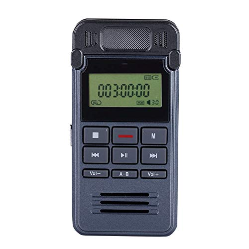 90 Hours Voice Recorder USB Rechargeable Recorder with Speaker...