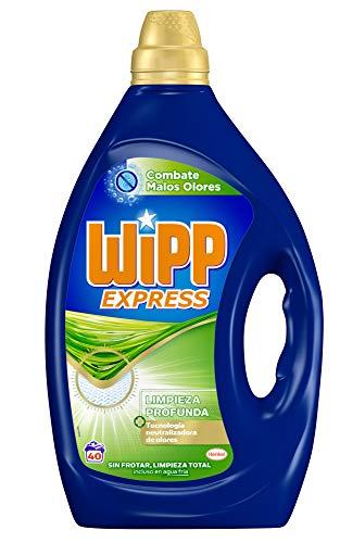 Wipp Express Detergente Gel Combate Malos Olores 40D