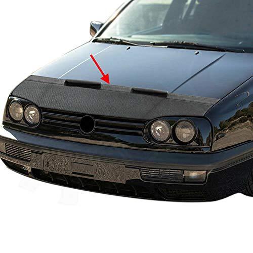 Haubenbra Bonnet Bra für Golf III 1991-1997 Carbon Optik Steinschlagschutz
