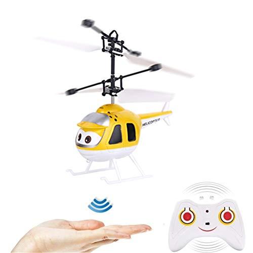 Juguetes voladores | Mini helicóptero volador infrarrojo para interiores | Helicóptero de control remoto | Helicóptero RC recargable | Juguetes voladores para niños | Helicóptero Drone Inducción