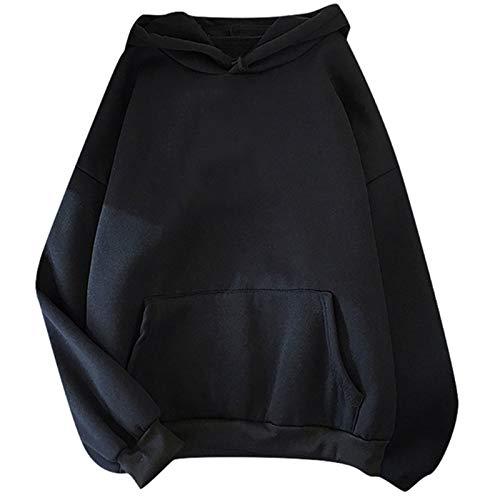 Sudadera con capucha de gran tamaño para las mujeres toplothespadded con capucha de manga larga con capucha de otoño de otoño sudaderas con capucha para mujer con capucha con capucha de talla grande 4