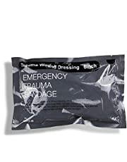 Israeli Bandage Vacuum Sterile Compression Bandages for First Aid Emergency Battle Wound Dressing Self-Rescue, 6 Inch, 1 Pack