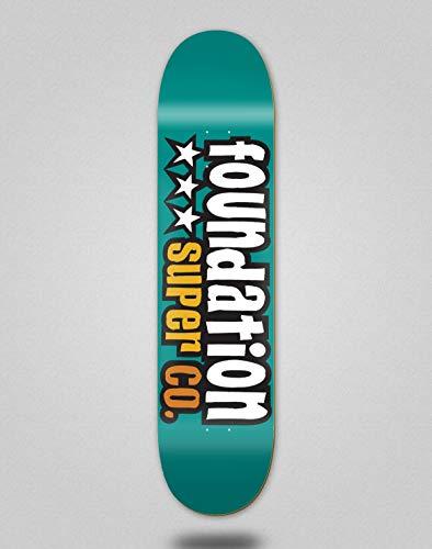 Foundation Skateboard Deck Star Teal 7.88