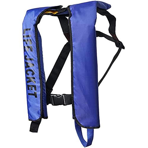 Chaleco salvavidas profesional ligero reflectante 150N fuerte flotabilidad para adultos que pesan menos de 350 libras (aprobado por la CE)