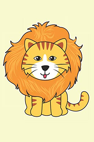 Cats: Like little Lions: Notebook for cat lovers and owners