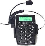 Artisam Landline HA0021 - Auriculares de diadema con micrófono y cancelación de ruido monoral, para casa y oficina