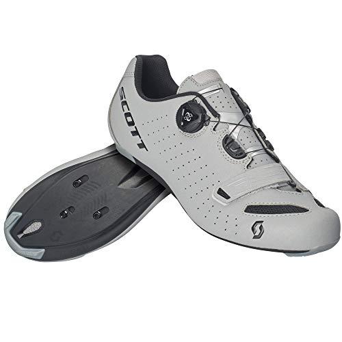 Scott Road Comp Boa Rennrad Fahrrad Schuhe Reflective grau/schwarz 2020: Größe: 46