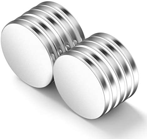 Neosmuk NSY3235 Magnets 32mm in Diameter Strong Rare Earth Adhesive Neodymium Disc Shaped Magnet product image