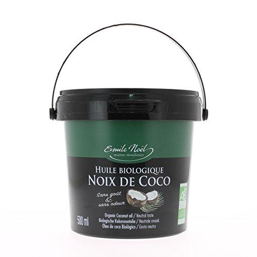 Huile bio Noix De Coco_Corps-Cheveux-Alimentaire_pot 500ml