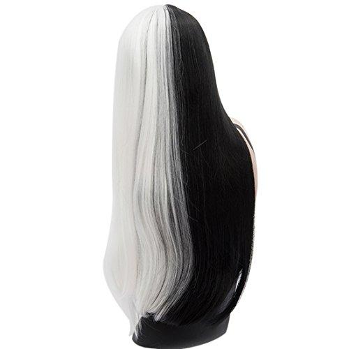 Peluca Blanca Larga marca QIYUN.Z