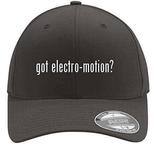 got Electro-Motion? - Adult Men's Flexfit Baseball Hat Cap, Dark Grey, Large/X-Large