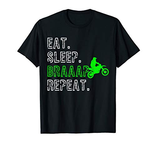 Motocross Braap Enduro Motorrad Geschenk T-Shirt