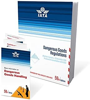 2018 59th Edition IATA Dangerous Goods Regulations - Perfect Bound - (English)