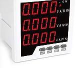 Medidor de frecuencia, amperímetro, medición programable Medidor de medición de frecuencia Pantalla de campo LED para automatización inteligente de distribución de edificios