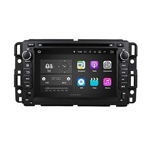 Android 7.1 Autoradio Navigazione GPS per Chevrolet Silverado(2008-2013)/Impala(2006-2013)/Avalanche(2007-2012), 7 Pollici Touchscreen Lettore DVD Radio Bluetooth