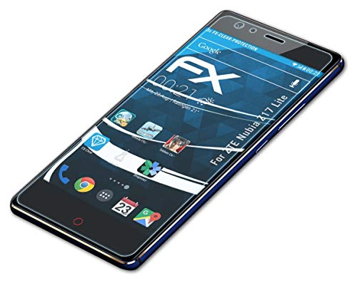 atFoliX Screen Protection Film Compatible with ZTE Nubia Z17 Lite Screen Protector, Ultra-Clear FX Protective Film (3X)