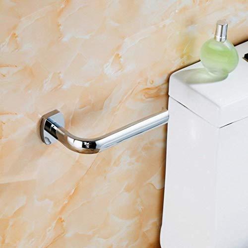 DXX-HR Portarrollos de papel de latón para cuarto de baño de papel higiénico soporte para toallas de papel higiénico dispensador de rollos de cocina