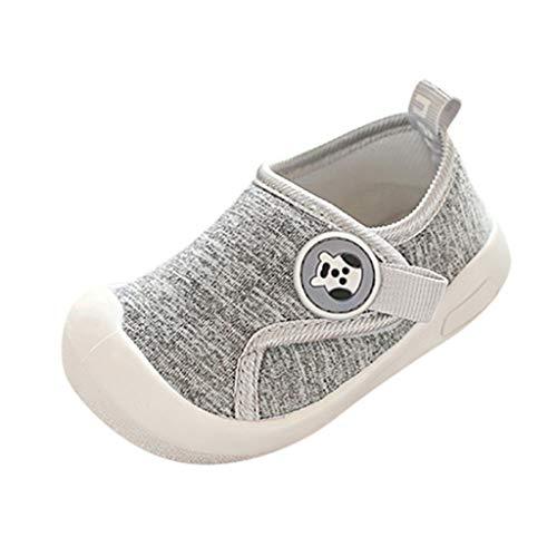 Janly Liquidación Venta Zapatos de Bebé, Niño Bebé Niños Zapatos Niños Niñas De Dibujos Animados De Suela Suave Zapatos Al Aire Libre, gris, 2.5-3 Years Old