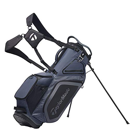 TaylorMade Stand 8.0 Bag, Charcoal/Black